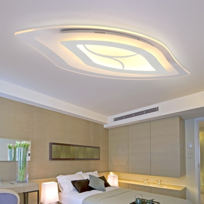 LED ceiling light Besançon, remote control
