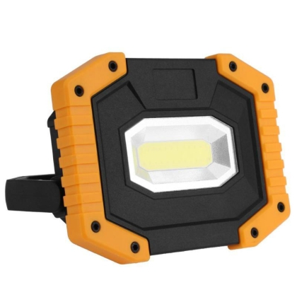 Outdoor portable LED work light 20W, waterproof, USB rechargeable