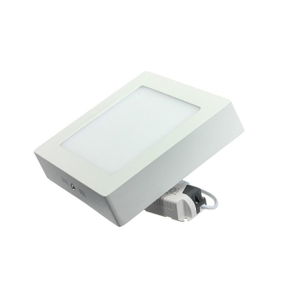 LED surface panel, round, 6W, LED driver included