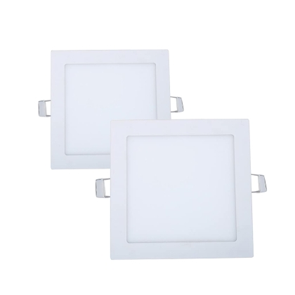 LED panel, square, 6W, 220V, LED driver included