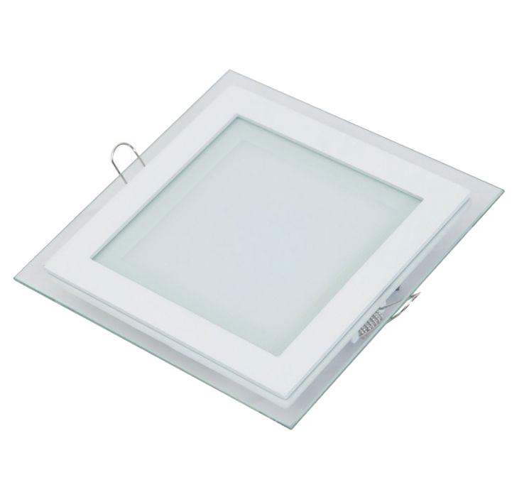 Стъклени кръгли и квадратни панели за вграждане